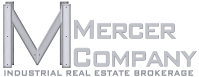 Logo with brushed MC text INDUSTRIAL BROKERAGE